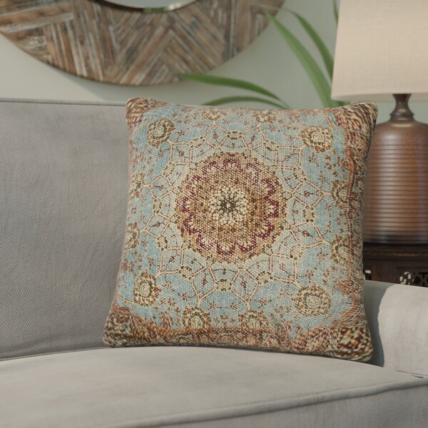 Stepanie 100% Cotton Throw Pillow by Bloomsbury Market